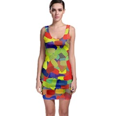 Abstract Art Structure Bodycon Dress