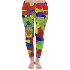 Abstract Art Structure Classic Winter Leggings