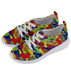 Abstract Art Structure Women s Lightweight Sports Shoes by Sapixe