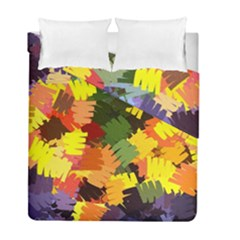 Mural Murals Graffiti Texture Duvet Cover Double Side (full/ Double Size)