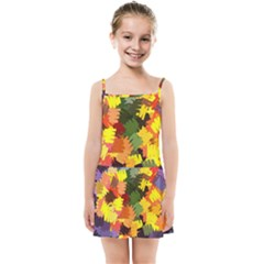 Mural Murals Graffiti Texture Kids Summer Sun Dress by Sapixe