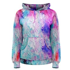 Background Art Abstract Watercolor Women s Pullover Hoodie