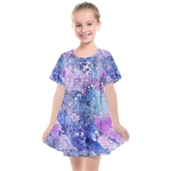 Background Art Abstract Watercolor Kids  Smock Dress by Sapixe