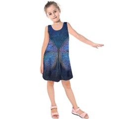 Butterfly Insect Nature Animal Kids  Sleeveless Dress by Sapixe