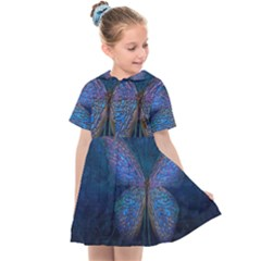 Butterfly Insect Nature Animal Kids  Sailor Dress