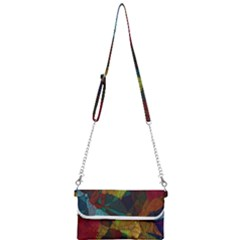 Background Color Template Abstract Mini Crossbody Handbag by Sapixe