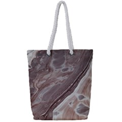 Mud Full Print Rope Handle Tote (small) by WILLBIRDWELL