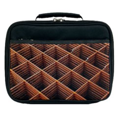Metal Grid Framework Creates An Abstract Lunch Bag by Jojostore