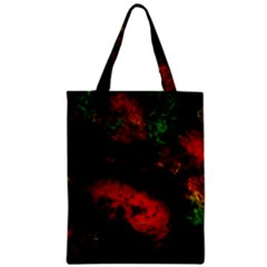 Background Art Abstract Watercolor Zipper Classic Tote Bag by Sapixe