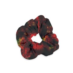 Background Art Abstract Watercolor Velvet Scrunchie by Sapixe