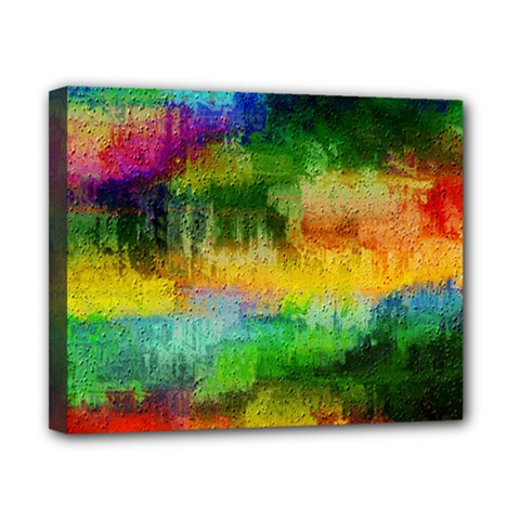 Pattern Texture Background Color Canvas 10  X 8  (stretched)