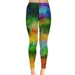 Pattern Texture Background Color Leggings