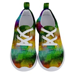 Pattern Texture Background Color Running Shoes by Sapixe