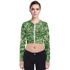 Crop Rotation Kansas Zip Up Bomber Jacket