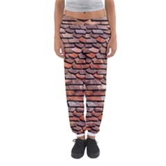 Roof Tiles On A Country House Women s Jogger Sweatpants by Jojostore