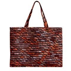 Roof Tiles On A Country House Zipper Mini Tote Bag by Jojostore