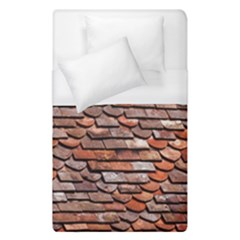 Roof Tiles On A Country House Duvet Cover (single Size) by Jojostore