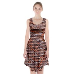 Roof Tiles On A Country House Racerback Midi Dress by Jojostore