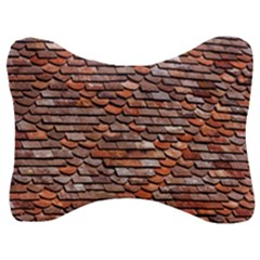 Roof Tiles On A Country House Velour Seat Head Rest Cushion by Jojostore
