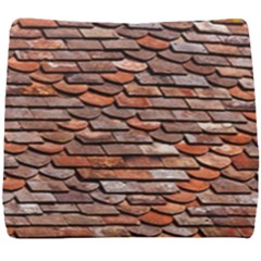 Roof Tiles On A Country House Seat Cushion by Jojostore
