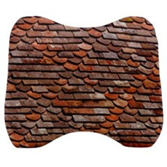 Roof Tiles On A Country House Velour Head Support Cushion by Jojostore