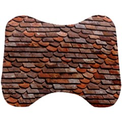 Roof Tiles On A Country House Head Support Cushion by Jojostore