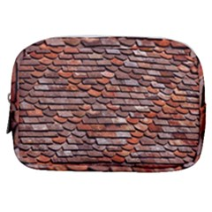 Roof Tiles On A Country House Make Up Pouch (small)