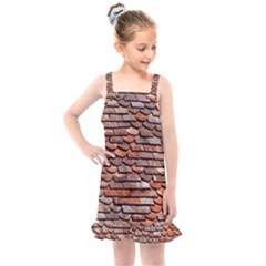 Roof Tiles On A Country House Kids  Overall Dress