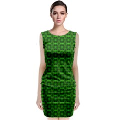 Emerald Egg Sleeveless Velvet Midi Dress by MissUniqueDesignerIs
