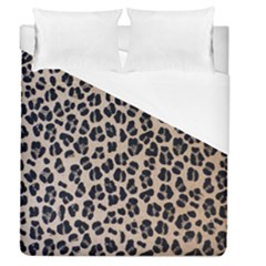 Background Pattern Leopard Duvet Cover (queen Size)