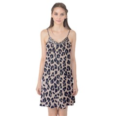 Background Pattern Leopard Camis Nightgown