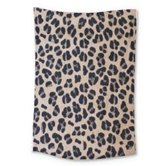 Background Pattern Leopard Large Tapestry