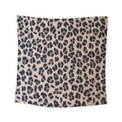 Background Pattern Leopard Square Tapestry (small) by Jojostore