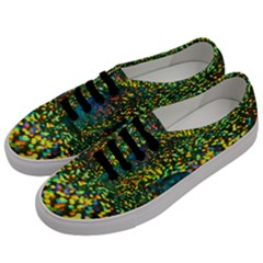 Construction Paper Iridescent Men s Classic Low Top Sneakers by Jojostore
