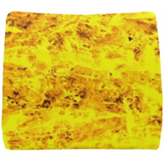 Yellow Abstract Background Seat Cushion