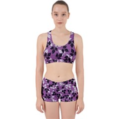 Floral Pattern Background Work It Out Gym Set by Jojostore