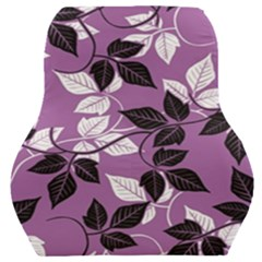 Floral Pattern Background Car Seat Back Cushion