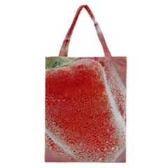Red Pepper And Bubbles Classic Tote Bag
