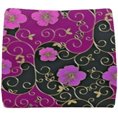 Floral Pattern Background Seat Cushion
