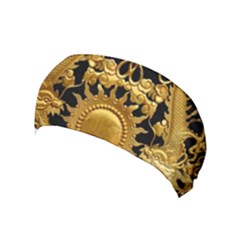 Golden Sun Yoga Headband by Jojostore