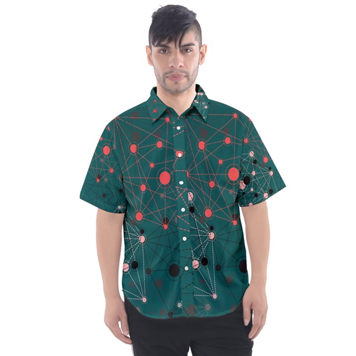 Pattern Seekers The Good The Bad And The Ugly Men s Short Sleeve Shirt