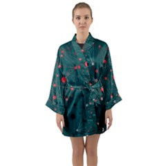 Pattern Seekers The Good The Bad And The Ugly Long Sleeve Kimono Robe