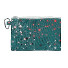 Pattern Seekers The Good The Bad And The Ugly Canvas Cosmetic Bag (large)