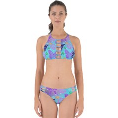 Butterfly Vector Background Perfectly Cut Out Bikini Set