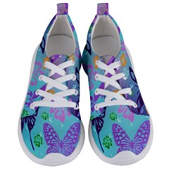 Butterfly Vector Background Women s Lightweight Sports Shoes