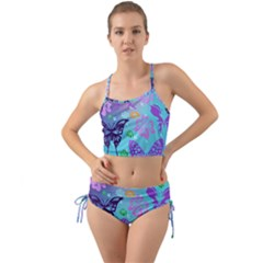 Butterfly Vector Background Mini Tank Bikini Set