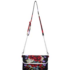 Flower Decoration Bouquet Of Flowers Mini Crossbody Handbag