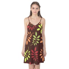 Leaves Foliage Pattern Design Camis Nightgown