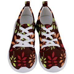 Leaves Foliage Pattern Design Women s Lightweight Sports Shoes