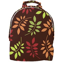 Leaves Foliage Pattern Design Mini Full Print Backpack by Sapixe
